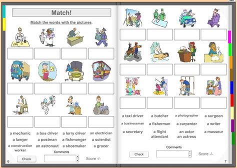 vocabulaire thmatique anglais franais 2340009863 pour ma famille liste des metiers en anglais