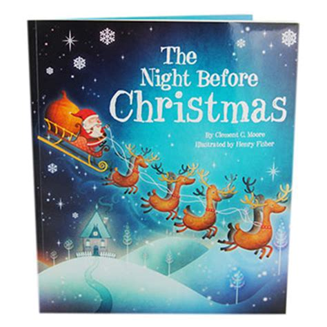 the night before christmas 1406358894 the night before christmas by clement c moore christmas books at the works