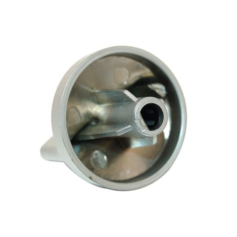 genuine belling oven cooker silver knob 082565307