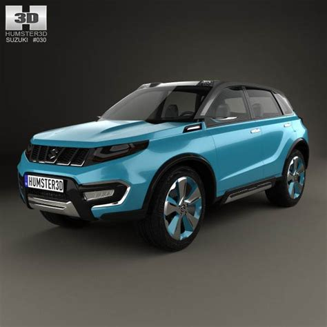 suzuki iv 4 2014 3d model for in various formats