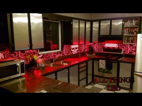 all things led kitchen backsplash led kitchen backsplash the awesomer
