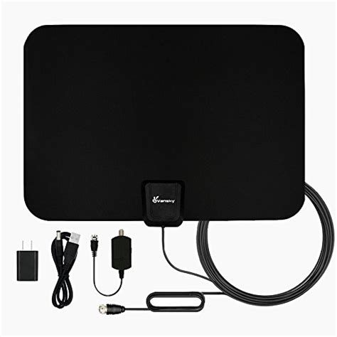 tv antenna vansky indoor amplified hdtv antenna  mile