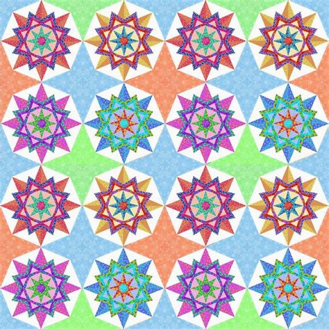 Sun Quilt Pattern by Sun Pieced Quilt Block Pattern Pdf