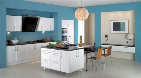 blue kitchen paint color ideas what is the best color to paint the walls of small kitchen