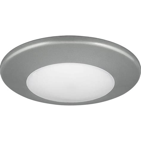 6 led disk light halo 5 in and 6 in matte white recessed led surface disk