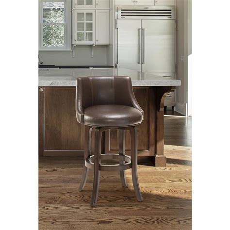 Bar Top Finish Home Depot by Hillsdale Furniture Napa Valley 40 In Brown Cherry