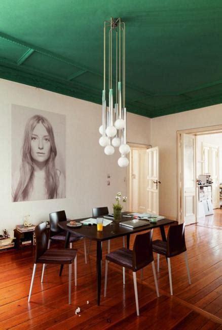 modern interior design  decor  malachite green colors