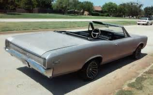 1966 Pontiac Tempest Convertible For Sale 1966 Tempest Convertible Gto Clone For Sale Photos