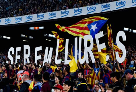 barcelona independence catalan independence could mean barca s la liga days are