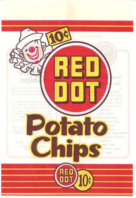 later years | chip chat: red dot and the potato chip