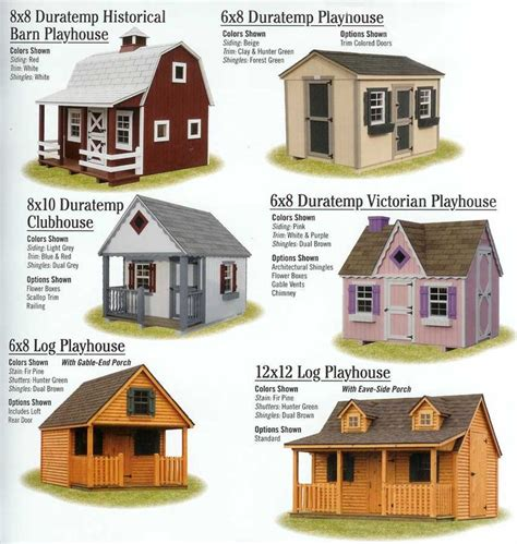 backyard clubhouse kits outdoor playhouse kit woodworking projects plans