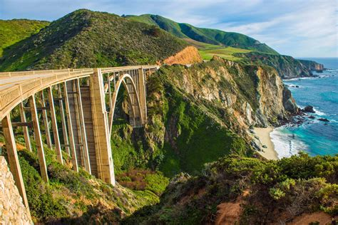 Pch Closure Map - pacific coast highway closures means visitors can bike big sur island