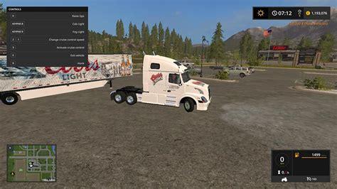volvo truck and trailer volvo truck and trailer in coors colors v 1 0 ls2017 com
