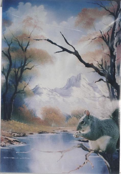 bob ross painting wildlife bob ross wildlife how to pattern packets directions photo