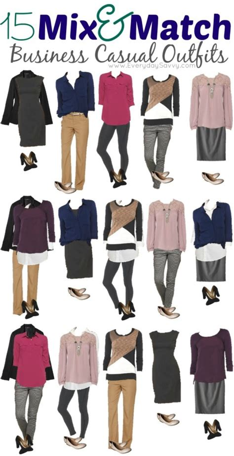 Wardrobe Mix And Match Ideas by 15 Mix And Match Business Casual From Target
