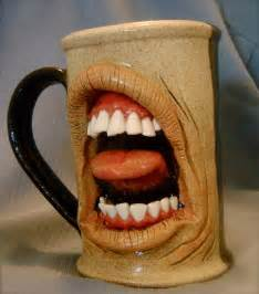 Faces Or Vases 20 Fun Scary And Unique Coffee Mugs Multy Shades