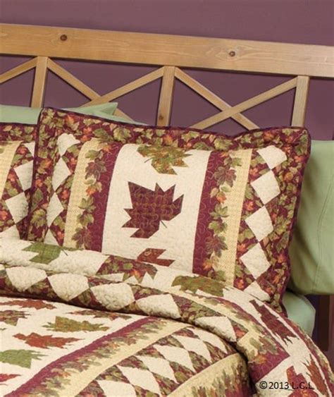 Fall Quilts Bedding Fall Quilt Collection Autumn Leaves Heirloom Quality