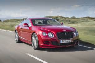2015 Bentley Continental Gt 2015 Bentley Continental Gt Speed Fastest Production Model Yet