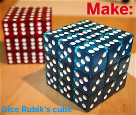 How To Make A Rubik Cube Out Of Paper - lou kregel make a rubik s cube out of dice