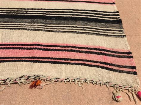 flat weave tribal rugs vintage moroccan flat weave stripe tribal rug for sale at 1stdibs