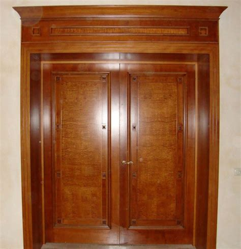 Double Solid Wood Interior Doors Solid Wooden Interior Doors