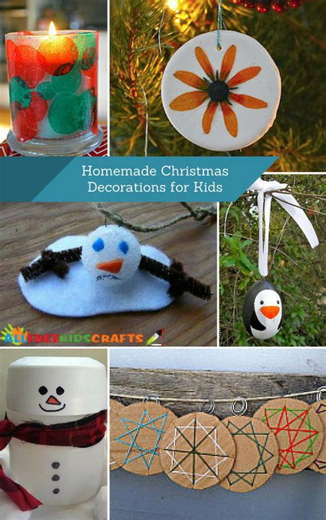 home made christmas decorations for kids 40 fun kids craft ideas for homemade christmas