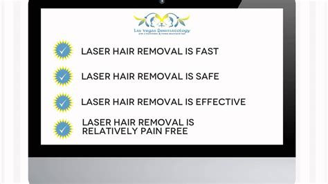 laser hair removal department of dermatology laser hair removal at las vegas dermatology youtube