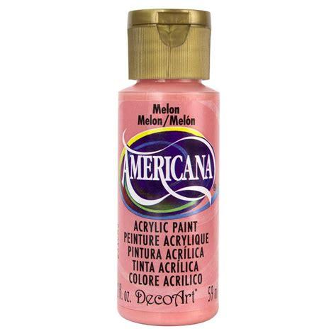 acrylic paint questions decoart americana 2 oz melon acrylic paint da251 3 the