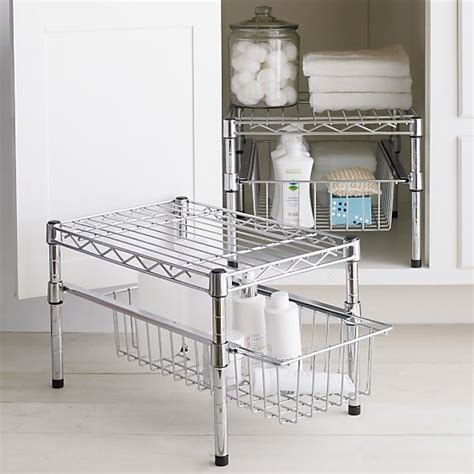 Wire Cabinet Drawers by Wire Organizer With Height Adjustable Drawer And Shelve