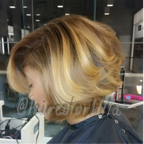 honey blonde bob 5 tips from a stylist to maintain healthy color treated