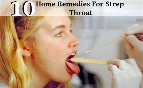 10 top home remedies for strep throat home remedies