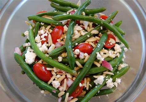 Salad Coffee Bean green bean salad cooking mamas