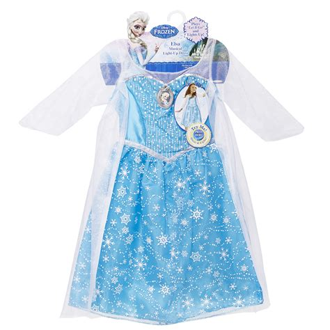 frozen light up dress disney frozen elsa musical light up dress shop your way