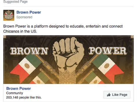 Power Ads 408 russian ads sought to inflame hispanic tensions after election