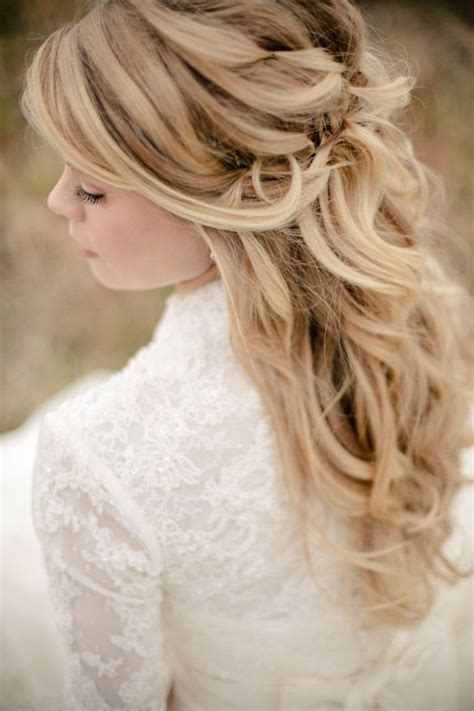 17 best images about half updo wedding hairstyle for thin 145 best images about feminine bridal hair on pinterest