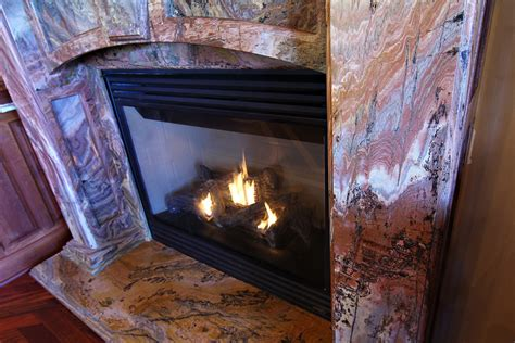 fireplace granite surround mantle debeer granite