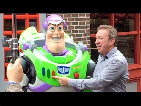 tim allen meets buzz lightyear at disney's hollywood