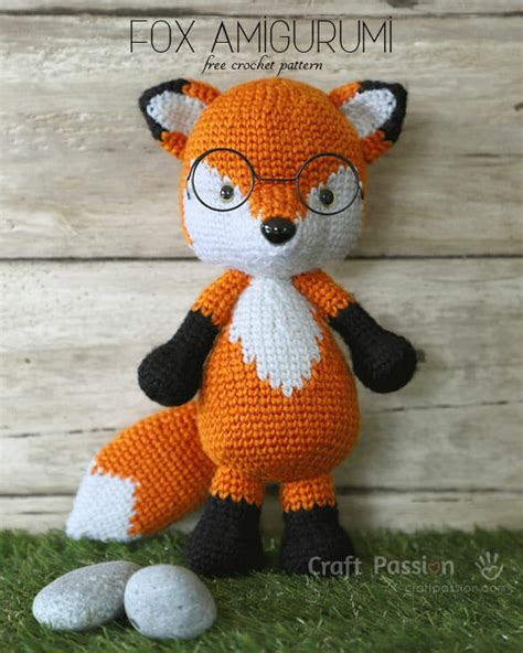 amigurumi fox fox amigurumi mr furu free crochet pattern craft