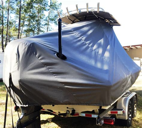 xpress boats covers ttopcovers t top boat cover weathermax 8oz fabric for