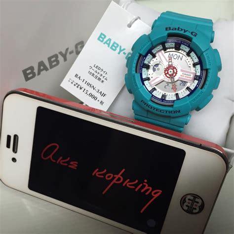 Sale Casio Baby G Original Ba 110 Series Putih Corak Emas baby g ba 110 ba 112 series 1 casio news parts