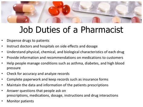 Pharmacist Duties by Pharmacist Duties Sayyed Consultant Pharmacy Automation 6