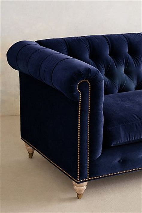 midnight blue velvet sofa pin by nocturnal jeweler on furnishings