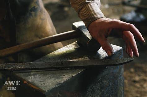 what a process forging a traditional japanese katana