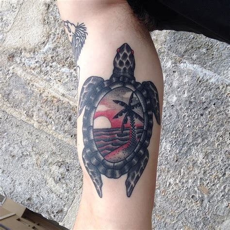 turtle tattoos 85 best sea turtle designs meanings 2018