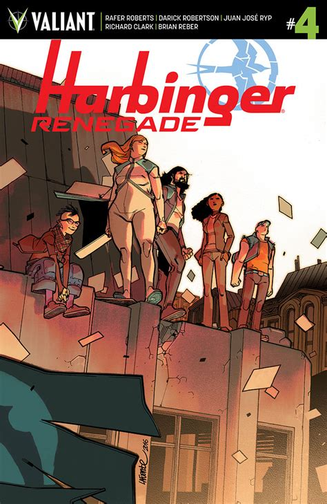 harbinger renegade volume 2 books comic book preview harbinger renegade 4 bounding into