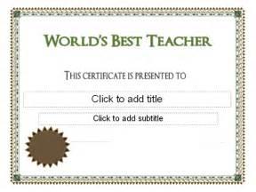 classroom certificates templates world s best award certificate pre k graduation
