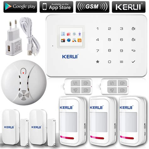 kerui g18 russian voice gsm autodial home security