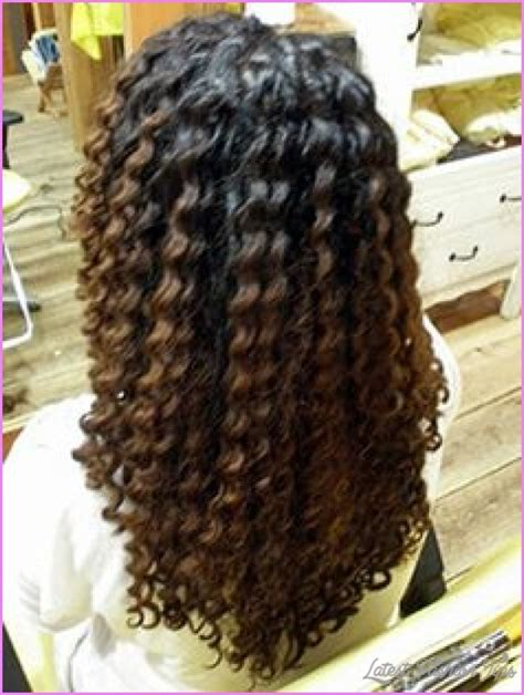 images thin hair spiral perm spiral curl perm for long hair latestfashiontips com