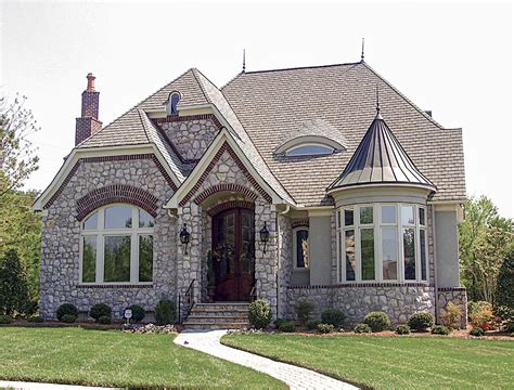 house plans with turrets mini castle with turret 17687lv architectural designs house plans
