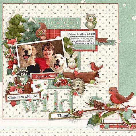 christmas themed scrapbook layout digital scrapbooking christmas layout ideas nitwit